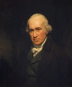James Watt by John Partridge, after Sir William Beechey (1806)[3][4]