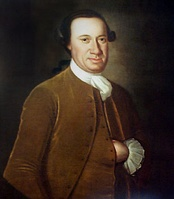 Marylander John Hanson (1721–1783) was the first person to serve a full term as President of the Continental Congress under the Articles of Confederation.