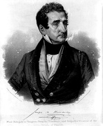 Delegate Joseph Marion Hernández of the Florida Territory, elected in 1822, the first Hispanic or Latino American to serve in the United States Congress in any capacity
