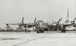 Arrival of SAC KB-50s in Germany, 1946