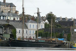The Kathleen and May at Brunswick Wharf, Bideford.