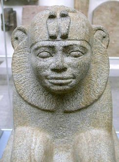 Sphinx of the Nubian Emperor Taharqa