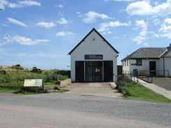 Former lifeboat station, now used as a visitor centre