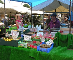 Sutton-in-Ashfield open air market (Tuesdays, Fridays and Saturdays)