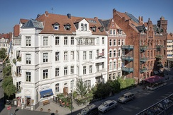 Historicist architecture at Nordstadt in Hanover