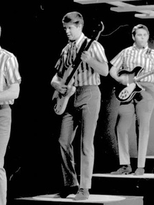 The Beach Boys' leader Brian Wilson is credited for setting a precedent that allowed bands and artists to enter a recording studio and act as their own producers.[25]