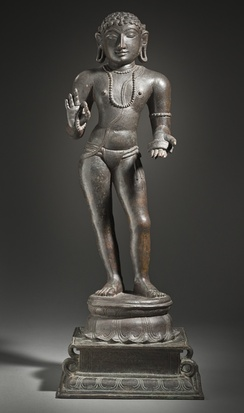 Manikkavachakar, minister of Pandya king Varaguna II (9th century CE) (early 12th century) Los Angeles County Museum of Art