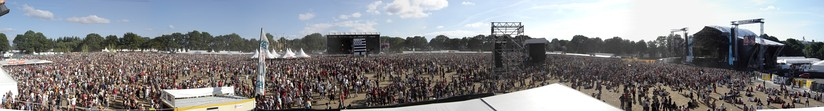 Vieilles Charrues Festival 2006 - Panoramic View