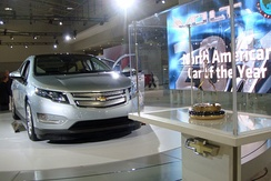The Chevrolet Volt won the COTY award in 2011.