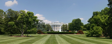 The White House and surrounding grounds