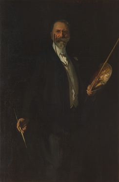 Portrait of Chase by John Singer Sargent (1902) at the Metropolitan Museum of Art