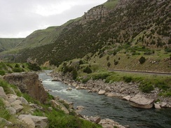 Wind River Canyon