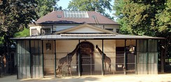 The Antelope House at Zoo Basel