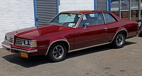 1981 Pontiac Le Mans two-door coupe, frL.jpg
