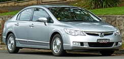 Honda Civic Hybrid (FD3) (Asian Model)