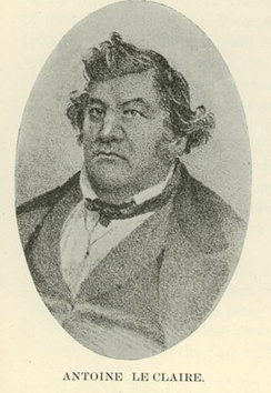 Black and white image of a hefty man looking forty-five degrees to the left