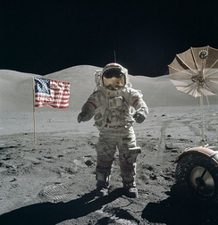 Last Moon landing: Apollo 17 (1972)