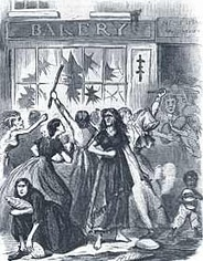 Richmond bread riot, 1863