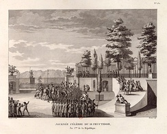 The army arrests General Pichegru at the Tuileries Palace (4 September 1797)