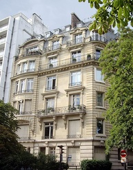 The last residence of Maria Callas, in Paris