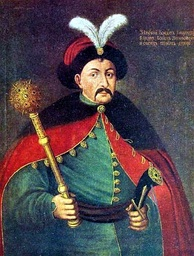 Bohdan Khmelnytsky, Hetman of Ukraine, established an independent Ukraine after the uprising in 1648 against Poland.