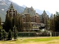 Banff Springs Hotel, Banff National Park, Alberta, built in 1888