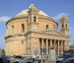 "The Mosta Dome known as ""Ir-Rotunda"""