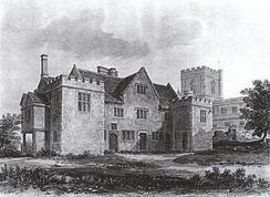 Edington Priory in 1826
