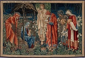 Morris & Co. tapestry, Edward Burne-Jones, 1888–1894