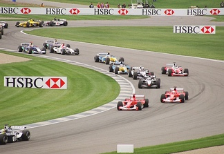 The start of the 2003 United States Grand Prix