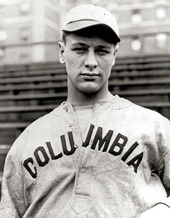 Columbia player Lou Gehrig in 1921