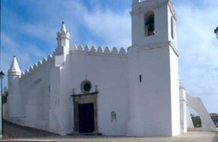Old Mosque in Mértola, Portugal. Converted into a church.