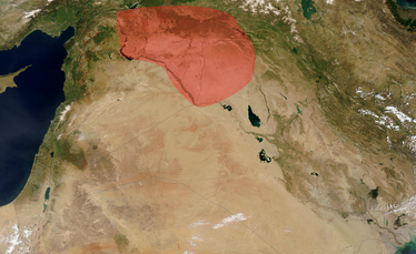 Al-Jazira—Upper Mesopotamia Region, within the Middle East.