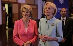 Bishop with Governor-General Quentin Bryce