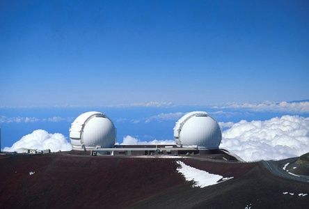 Mauna Kea on the Island of Hawaiʻi is the tallest mountain on Earth as measured from base to summit.