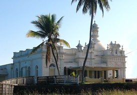 Kechimalai Mosque, Beruwala. One of the oldest mosques in Sri Lanka. It is believed to be the site where the first Arabs landed in Sri Lanka