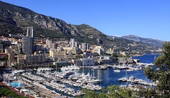 Monaco, known for its casino, royalty and scenic harbour