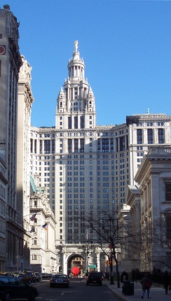 Manhattan Municipal Building, WNYC's home from 1922 to 2008