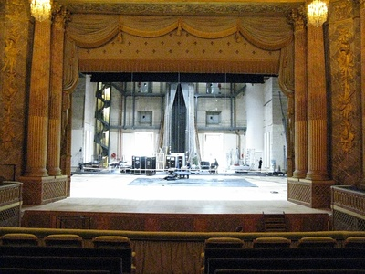 Stage of the Royal Opera