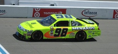 Paul Menard in the No. 98 during the 2010 Toyota/Save Mart 350