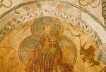 15th century Christ in Majesty in Jaleyrac
