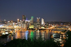 Pittsburgh from the West End Overlook
