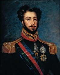 D. Pedro I of Braganza –  The 1st Emperor of Brazil and King of Portugal as Emperor-King Pedro I & IV.