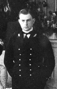 Maria Letizia's only child Prince Umberto, Count of Salemi in an undated photograph.