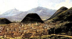 Quito by Rafael Salas. Painting of mid-19th century