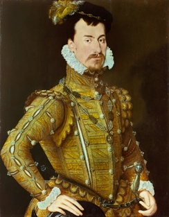 Lord Robert Dudley c. 1560