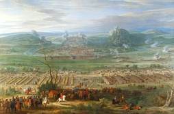 The Siege of Besançon in 1674