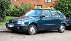 Škoda Felicia from 1994 was first new model after takeover by Volkswagen Group.