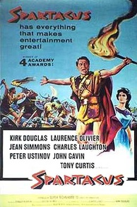 Poster for the film Spartacus