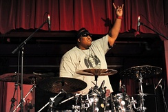 Eric Moore was the drummer for Suicidal Tendencies between 2008 and 2015.